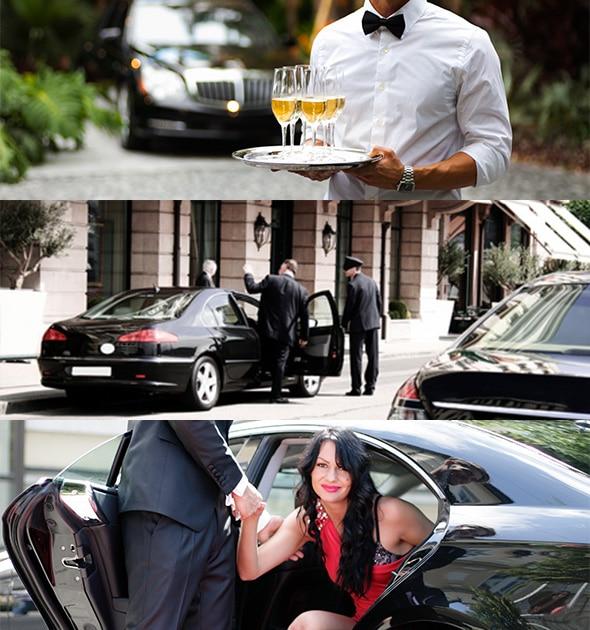 Location véhicule avec chauffeur privé pour vos événements (gala, soirée, tournée...)