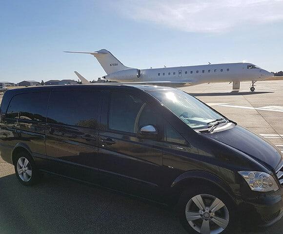 Transfert aréoport avec chauffeur privé - SUD VTC