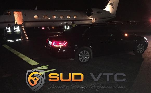 Location de véhicule avec chauffeur pour transfert aéroport, gare, hotel, restaurant - SUD VTC