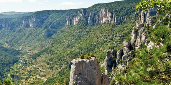 Anduze village au porte des Cévennes